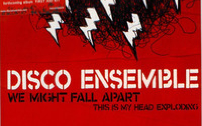 #11 Disco Ensemble – We Might Fall Apart (2005)