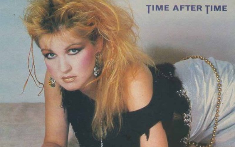 #29 Cyndi Lauper – Time After Time