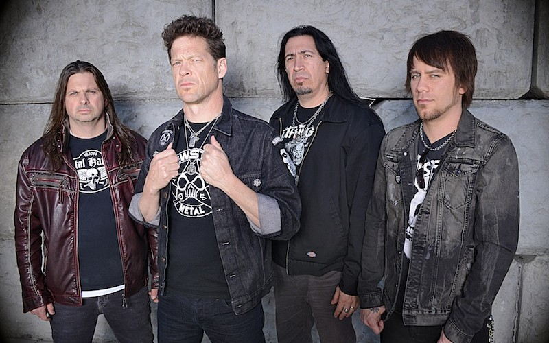 Small talk: vieraana Jason Newsted (Newsted)