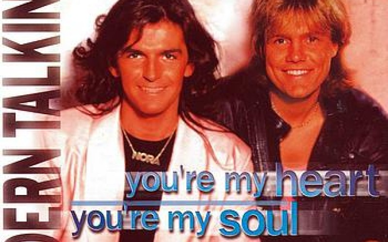 #17 Modern Talking – You're My Heart, You're My Soul