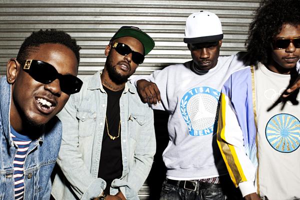 Black Hippy; Kendrick Lamar, Schoolboy Q, Jay Rock, Ab-Soul.