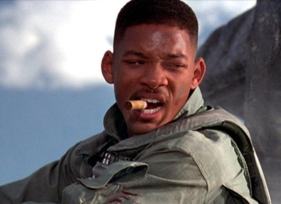 Vuonna 1996 Will Smith jäysti sikaria Independence Day -hittielokuvassa.