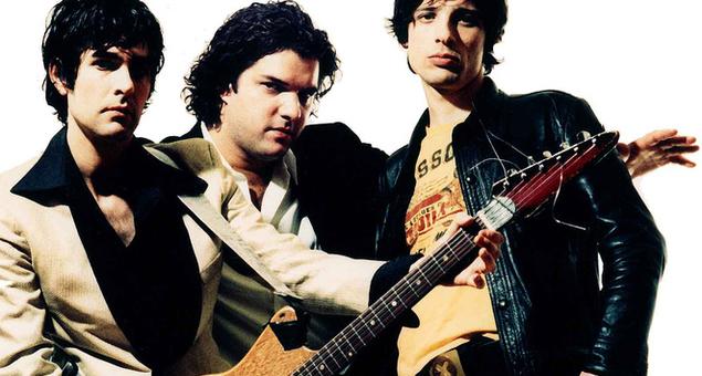 Jon Spencer (vasemmalla) ei soita bluesia vaan rock'n'rollia.