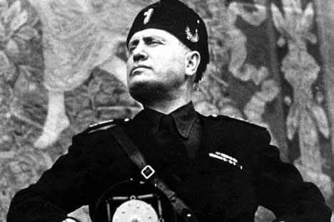 Mussolini, 169 cm, oli pieni fasisti.