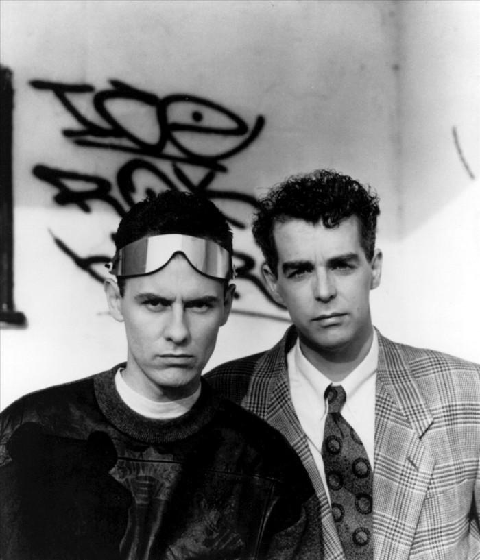 Chris Lowe ja Neil Tennant, kaksi aikuiseen ikään ehtinyttä sivistynyttä miestä.