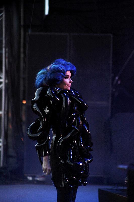 Björk Flow Festivalilla vuonna 2012.