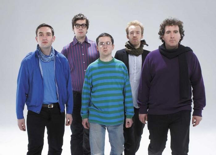 Hot Chip, viisi miestä rakkauden tarpeessa.
