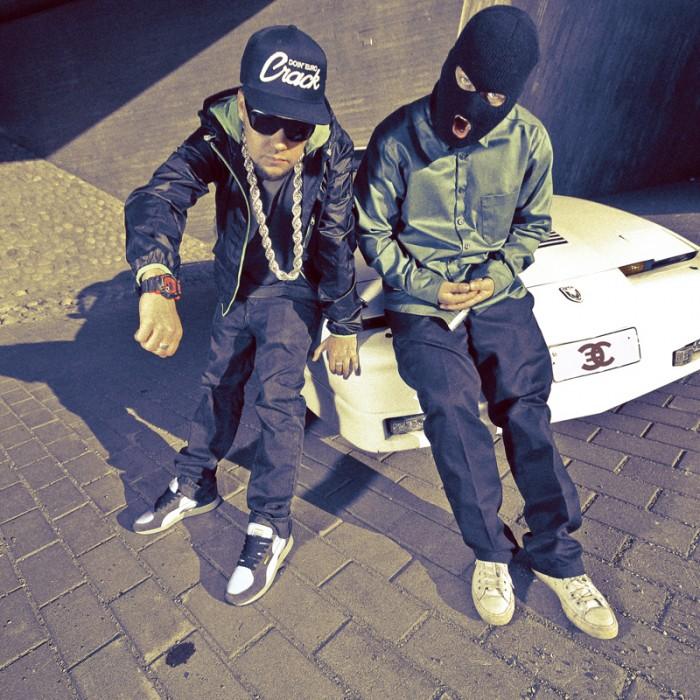 Juuri esikoisalbuminsa julkaissut Euro Crack on Roope Kinnusen (vasemmalla) ajankohtaisin projekti.