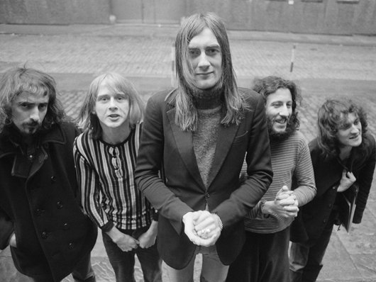 Bluesrukous. John McVie, Danny Kirwan, Mick Fleetwood, Peter Green ja Jeremy Spencer.