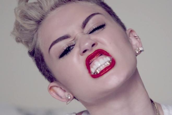 Miley Cyrus rankka-moodissa.
