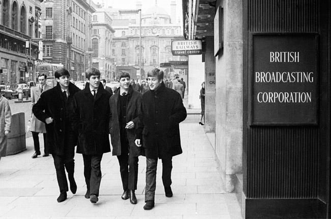 Kaksi insituutiota kohtaa: The Beatles ja BBC.